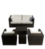 Outdoor Living Set in Java Brown Colour by GEBE