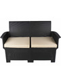 Outdoor Sofa Set (2S + 1S + 1S + ST  + CT) in Black Colour by Ventura