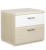 Oyester Bedside Table in Oak Finish by HomeTown