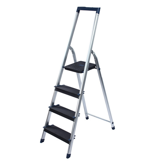 Ozone Aluminium 4 Steps 1 8 Ft Ladder Best Deals With