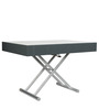 Ozzio Expandable Coffee Table in Brown Colour by Gravity