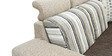 Pacific Corner Sectional Sofa in Designer Fabric Upholstery by Star India