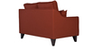 Ithaca Impulse Two Seater Sofa in Burnt Sienna Colour by Urban Living