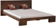 Blaine King Size Bed in Provincial Teak Finish by Woodsworth
