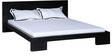 Blaine Queen Size Bed in Espresso Walnut Finish by Woodsworth