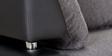 Parvel L Shape Sofa in Black & Grey Colour by Madesos