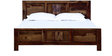 Wyoming Queen Bed in Provincial Teak Finish by Woodsworth