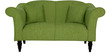 Paulina Two Seater Sofa in Fern Green Colour by CasaCraft