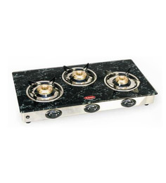Padmini CS- 3 GT Garnet Grey Gas Stove