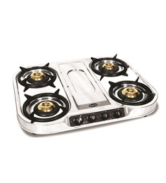 Padmini CS-407 4-burner Gas Stove