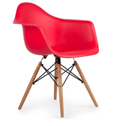 Palm Beach Club Chair in Roking Red Colour by HomeHQ
