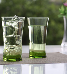 Pasabahce Azur Lime Green 300 Ml Set of 6 Glasses