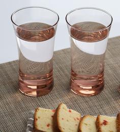 Pasabahce Azur Glass Set Pink 300 Ml