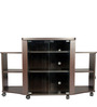 Pacific TV Unit in Black Colour by HomeTown