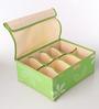 Packnbuy Fabric Green Innerwear Organiser - Set of 3