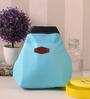 Packnbuy Fabric Mint Blue Cold & Warm Insulated Lunch Pouch
