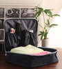 PackNBUY Black Nylon 4.3 x 1.8 Inch Large Toiletry Purse Organizer