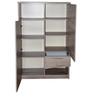Palace Oak Cabinet in Oak Finish by Gami