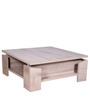 Palace Oak Square Low Table in Oak Finish by Gami