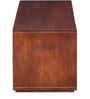 Savannah Solid Wood Entertainment Unit in Honey Oak Finish by Woodsworth