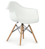 Palm Beach Club Chair in Winter White Colour by HomeHQ