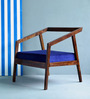 Harrington One Seater Sofa in Provincial Teak Finish by Woodsworth