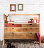 Palouse Chest of Six Drawers in Natural Mango Wood Finish by Woodsworth
