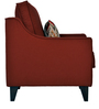 Ithaca Impulse One Seater Sofa in Coral Colour by Urban Living