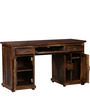 Edgewood City Study & Laptop Table in Provincial Teak Finish by Woodsworth