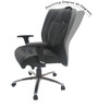 Paris Low Back Office Chair by Chromecraft