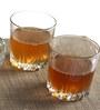 Pasabahce Karat Whiskey 300 ML Tumbler Glass with Bowls - Set of 8