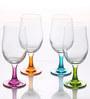 Pasabahce Workshop Enjoy 380 ML Beer Stem Cum Cocktail Glasses - Set of 4