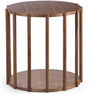 Paterson C Side Tablein Brown Colour by HomeHQ