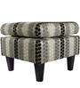 Patterned Square Ottoman by Siwa Style