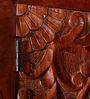 Pavana Handcrafted Wardrobe in Honey Oak Finish by Mudramark