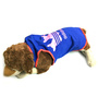 Pawzone Adidog Blue With Pink T Shirt for Dogs-18 inch