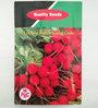 PBC F1 Hybrid Radish Scarlet Globe Seed (Pack of 100 Seeds)