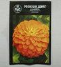 PBC Zinnia Orange Premium Seeds (Pack of 100 Seeds)