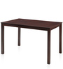 Peak Four Seater Dining Table in Brown Colour by @ Home
