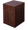 Pedestal with Drawers in Walnut Finish by Addy Design
