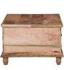 Petika - Trunk Box Cum Coffee Table in Natural Finish by Mudramark