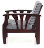 Petrie One Seater Sofa in Semi-Glossy Rosewood Finish by JFA Touchwood