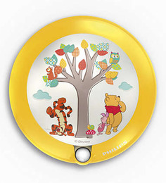 Philips Disney Winnie The Pooh Sensor LED Wall Light In Yellow Colour