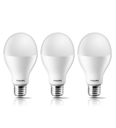 Philips Golden Yellow 12.5 W LED Bulb - Set of 3