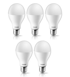 Philips Golden Yellow 12.5 W LED Bulb - Set of 5