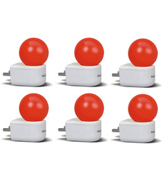 Philips Joyvision Red 0.5W Coloured LED Set of 6