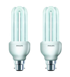 Philips White 18 Watts CFL Light - Set Of 2
