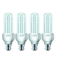 Philips White 18 W CFL Light - Set of 4