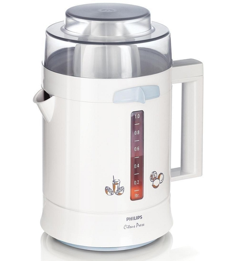 Philips Citrus Press HR2775 Citrus Juicer (White)