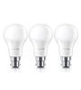 Philips White 12W LED Bulb - Set of 3